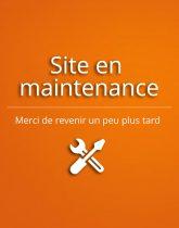 page de maintenance