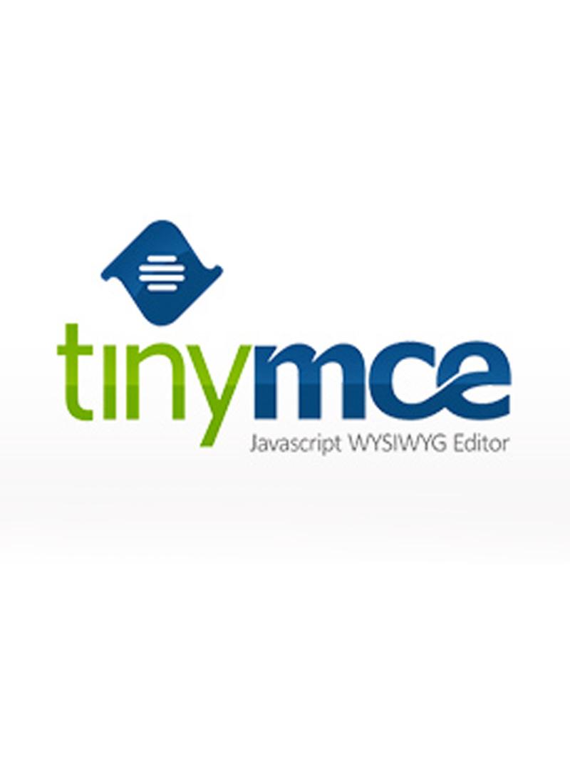 Installer et configurer tinyMCE